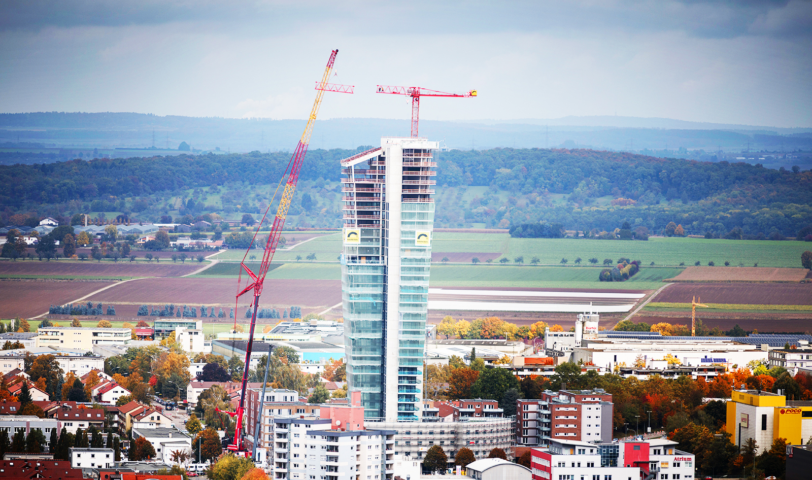 SCHOLPP arbeitet am Gewa-Tower in Stuttgart